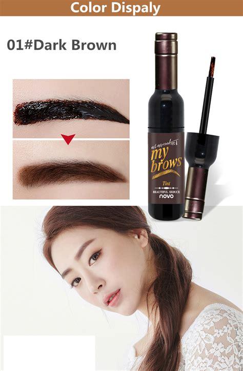 Makeup Brown Malaysia novo dye eyebrow gel tattoo eyebrow cosmetics ccmall2u malaysia wholesale mall