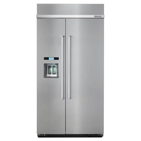 Kitchenaid Refrigerator No Water Kbsd612ess Kitchenaid 42 Quot 25 0 Cu Ft Built In Side By