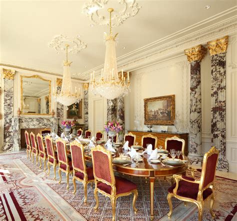 mansion dining room beverly hills traditional style mansion
