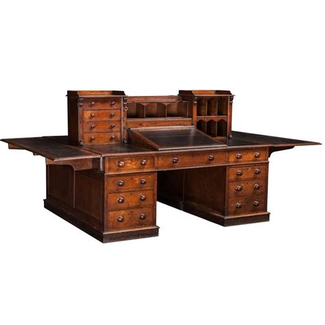 Dickens Partners Desk At 1stdibs Partner Desk Office Furniture