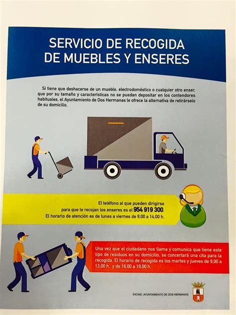 recogida de muebles ayuntamiento el ayuntamiento pone en marcha un servicio de recogida de
