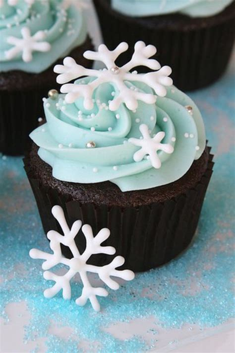 Winter Cupcakes Decorating Ideas by 1000 Ideas About Cupcakes Decorating On