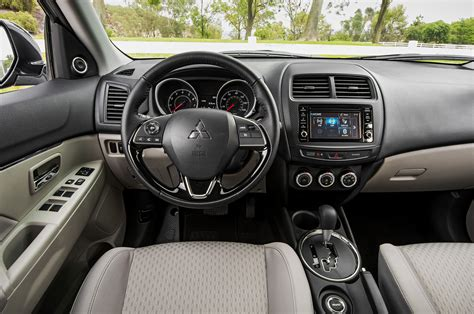 mitsubishi outlander sport 2015 interior 2016 mitsubishi outlander sport debuts with updated styling