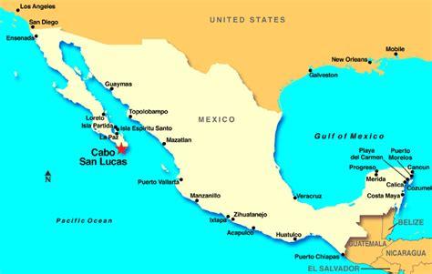 map of mexico showing ixtapa cabo san lucas cruises cabo san lucas cruise cruise cabo