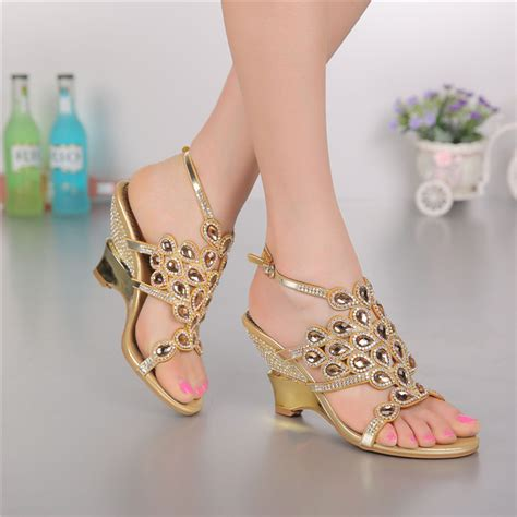 fashionable shoes for s sandals genuine leather rhinestone
