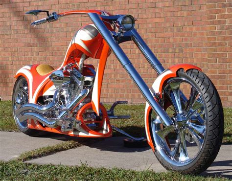 300mm Rsd Single Sided High End Softail Motorcycle By Dave