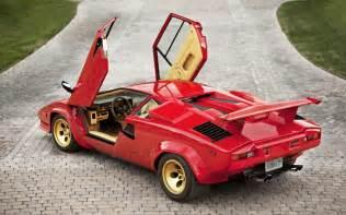 Countach Lamborghini Testarossa Vs Lamborghini Countach Motor Trend