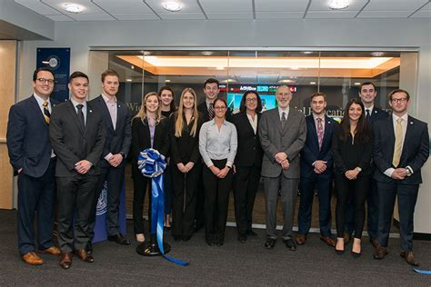Mba Rwu Director by Roger Williams Opens Financial Education Center