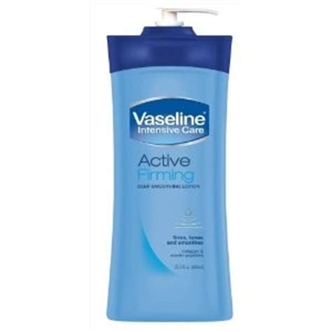 Who Is The New Of Vaseline And Likes It All by Vaseline Vaseline New Firming Smoothing Lotion