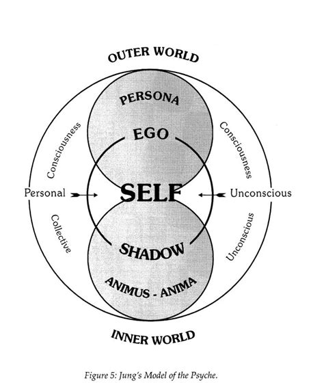 pattern theory of self illustration of carl jung s model of the psyche from the