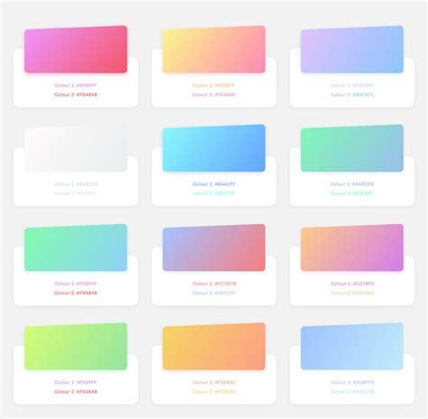 gradient colors best 25 gradient color ideas on color