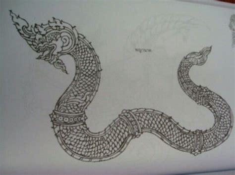 naga traditional tattoo 9 best naga tattoos images on pinterest tattoo art thai