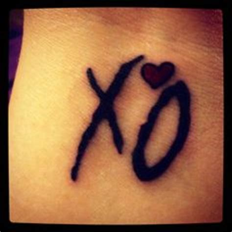 xo tattoo meaning 1000 images about xo t ttoo on the weeknd