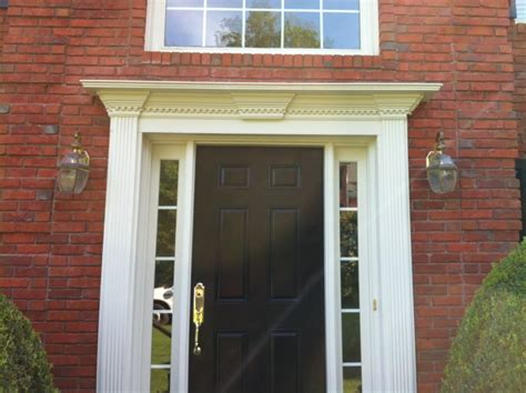 Exterior Door Molding Ideas Any Ideas On Installation To Prevent Water Infiltration Entry Door Casing General