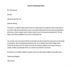 Fundraising Letter Sle For Church Fundraising Letter Template 10 Free Word Pdf Documents