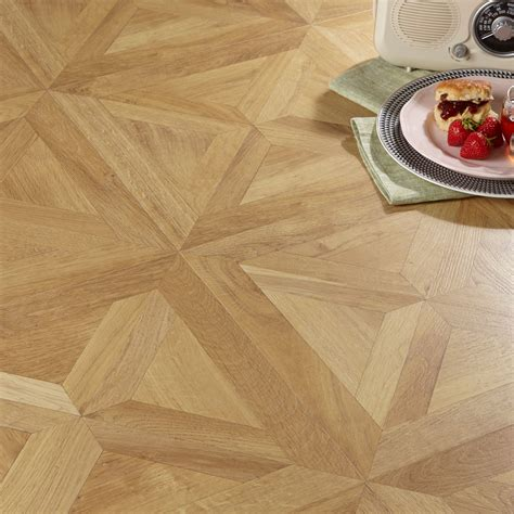 staccato natural oak parquet effect laminate flooring 1 86