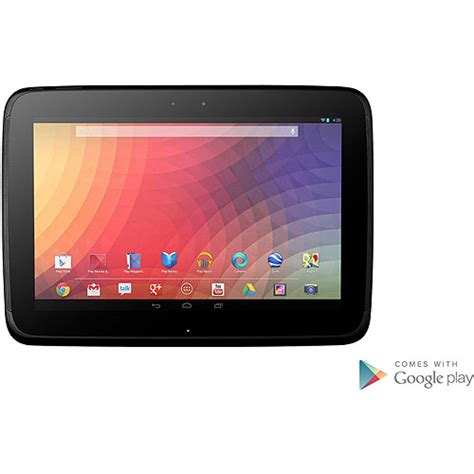 walmart tablets android nexus 10 tablet pc walmart