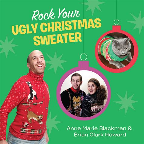 rock your ugly christmas sweater book will bring your fam