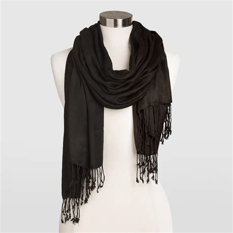 Shopping For Home Decor by Black Pashmina Style Shawl World Market