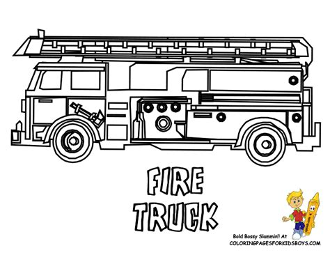 fire truck coloring pages fire truck coloring pages free