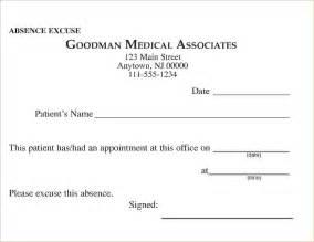 12 free printable doctors excuseagenda template sample