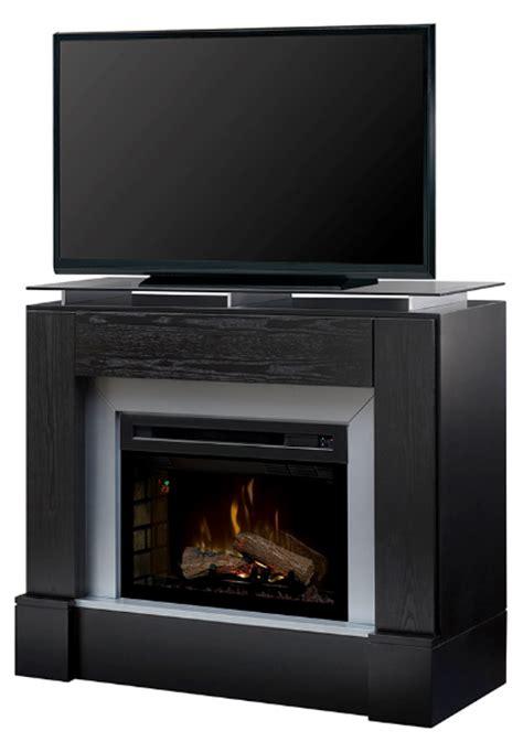 48 quot dimplex jasper black media console fireplace