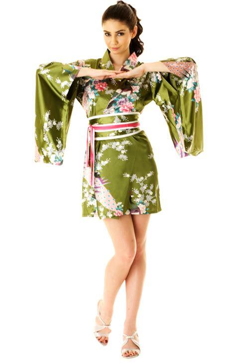 green pattern kimono short green kimono short yukata kimono neve bianca