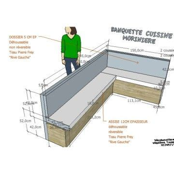 banquette design plans banquette coin repas gt http www decoetmatieres fr plans mobilier cuisine coin