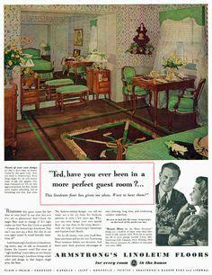 1938 kitchen ad for armstrong linoleum in black 1920s bedroom with black linoleum floor design i 1920s bedroom bedrooms