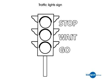 printable road safety colouring sheets traffic lights kids activities colouing pages