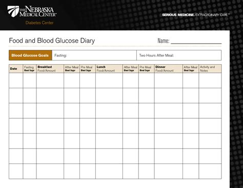 mayo clinic diet journal template diabetic food diary template printable food and blood