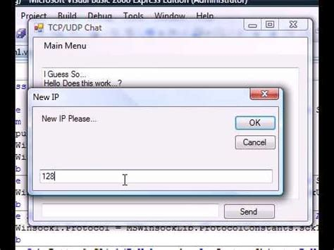 tutorial vb net windows application vb net how to make a tcp or udp windows application