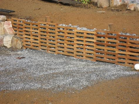 Wood Cribbing Design retaining walls on