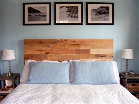 Pallet Headboard Designs by Diy Recycled Pallet Headboard Pallets Designs