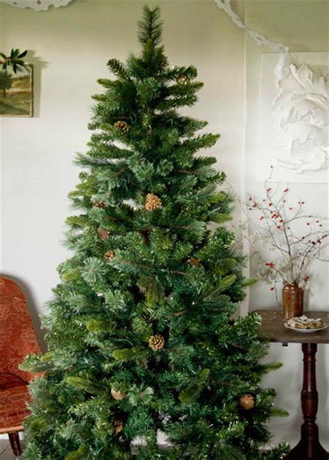 buy pre lit stratton pine artificial christmas tree