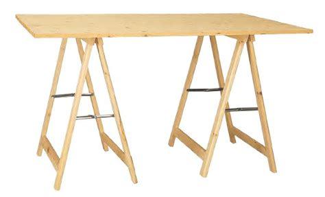 cavalletti in legno per tavoli cavalletti in legno e ferro pronto tavolo in kit cm 120