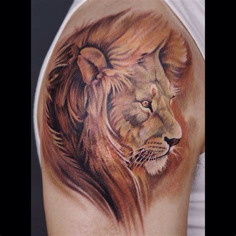 lion tattoo ideas cover up design idea for 57 amazing cover up shoulder tattoos