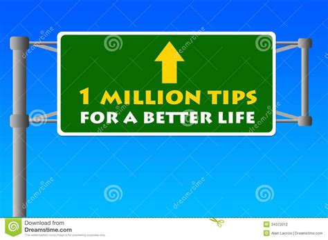 life tips life tips stock photography image 34372012