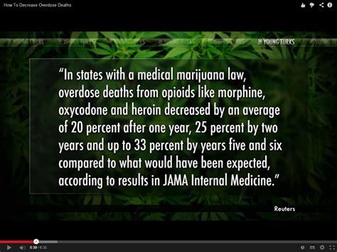 Marijuana Overdose Meme - study shows medical marijuana means less overdoses