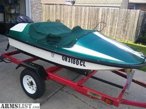 mini jet boat for sale craigslist armslist for sale trade aqua lark mini speed boat