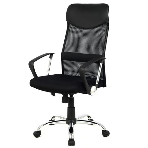 material executive chair high back mesh office chair to increase productivity