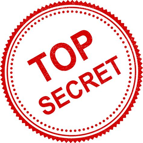 top secret stamp vector png transparent svg onlygfxcom