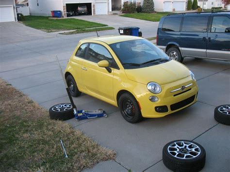 fiat 500 sport tire size fact 185 60r15 tires fit on a fiat 500 grassroots