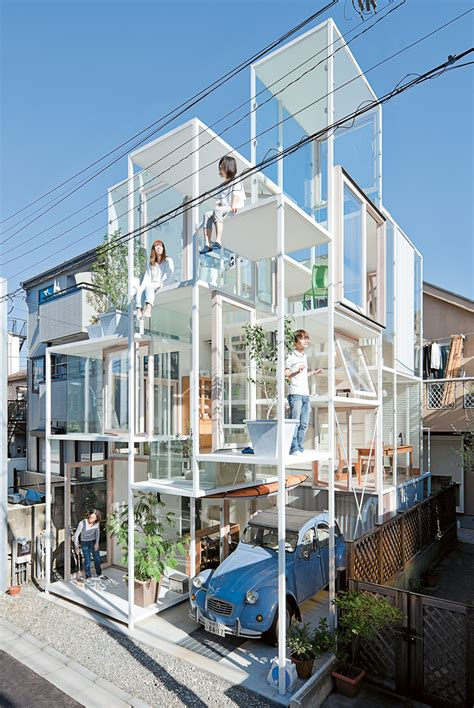tokyo house live small japanese housing design creative review