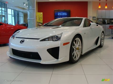 lexus coupe white pearl white 2012 lexus lfa coupe exterior photo 60723763
