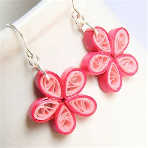paper quilled flower earrings tutorial tutorial for paper quilled jewelry pdf paisley and