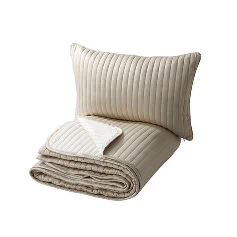 karit couvre lit et housse de coussin 180x280 40x65 cm ikea