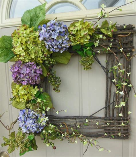 How To Make Handmade Wreaths - exceptional wreath hanging ideas godfather style