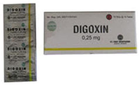 Obat Digoxin f kp twepy obat jantung digoxin