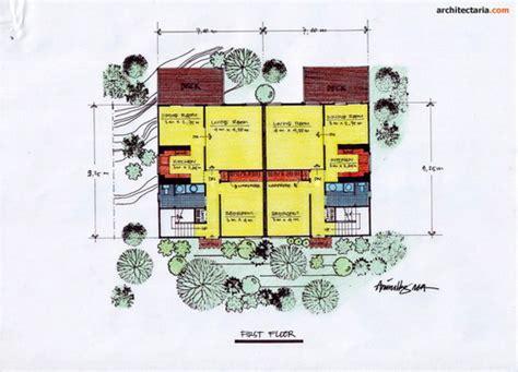 kumpulan gambar sketsa desain rumah part ii pt architectaria media cipta